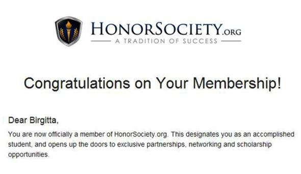 HonorsSociery